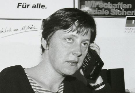 меркель ангела фото в молодости